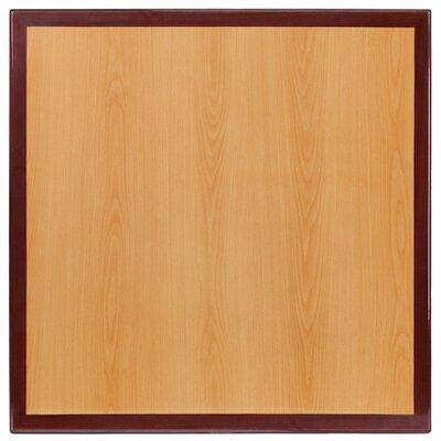 "Bantom Square Resin Table Top Size: 24"" W x 24"" L"