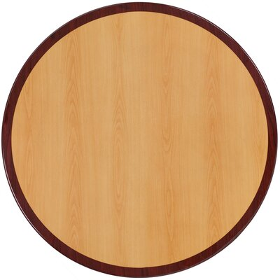"""Round Resin Table Top Size: 24"""" W x 24"""" L"""