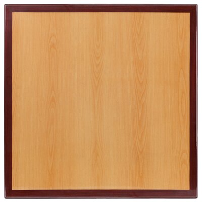 "Bantom Square Resin Table Top Size: 30"" W x 30"" L"