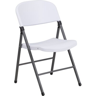 Laduke Folding Chair Color: White