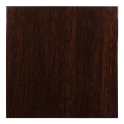 "Wharton Table Top Size: 1.75"" H x 36"" W x 36"" D"