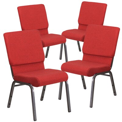 MacArthur Guest chair Seat Finish: Red
