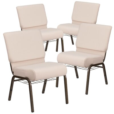 MacArthur Modern Guest chair with Fabric Seat Seat Finish: Beige