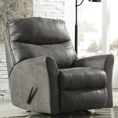 Sumeet Manual Rocker Recliner Upholstery: Slate