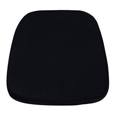 Chiavari Chair Cushion for Wood and Resin Chiavari Chairs (Set of 5) Color: Black