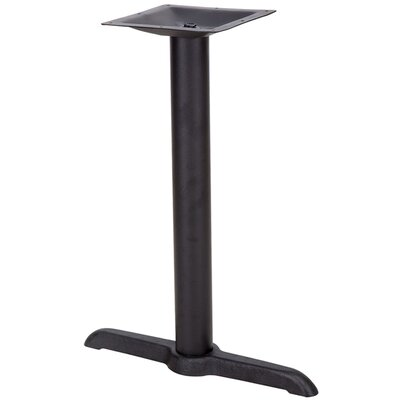 "Barron Restaurant Table T-Base with Table Height Column Size: 30"" Table Height"