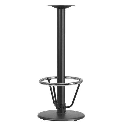 "Round Restaurant Table Base Size: 42""H x 18""W x 18""D"