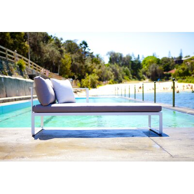 Harbour Outdoor Clovelly Deep Seating Right Arm Sectional Piece with Cushions