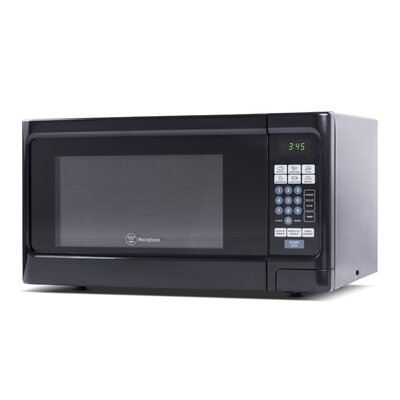 "21"" 1.1 cu.ft. Countertop Microwave Color: Black"