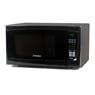 "22"" 1.6 cu.ft. Countertop Microwave Color: Black"