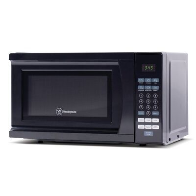 "18"" 0.7 cu.ft. Countertop Microwave Color: Black"