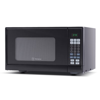 "19"" 0.9 cu.ft. Countertop Microwave Color: Black"