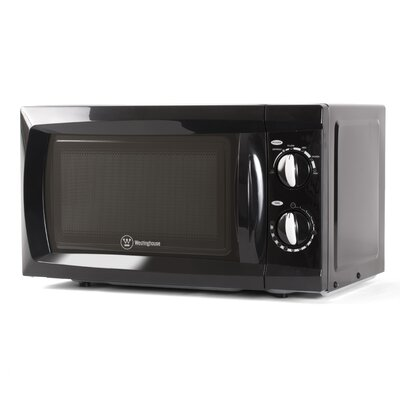 "18"" 0.6 cu.ft. Countertop Microwave Color: Black"