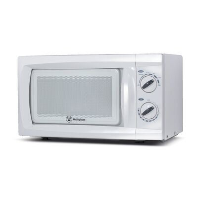 "18"" 0.6 cu.ft. Countertop Microwave Color: White"