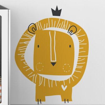 LittleLion Studio Baby Zoo Lion King Wall Decal