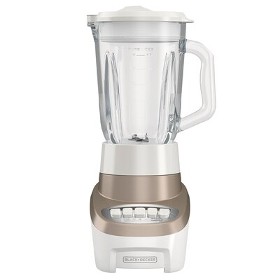 PowerCrush Multi-Function Blender with 6-Cup Glass Jar Color: Champagne