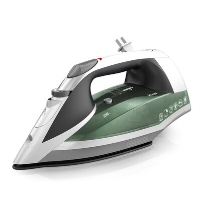 Vitessa Advanced Steam 1200W Iron with Retractable Cord Color: Green