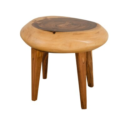 Clifton Wood Accent Stool
