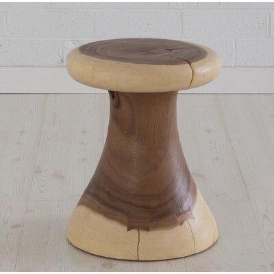 Clay Mushroom Accent Stool