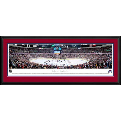 Blakeway Worldwide Panoramas, Inc NHL Center Ice Deluxe Framed Photographic Print