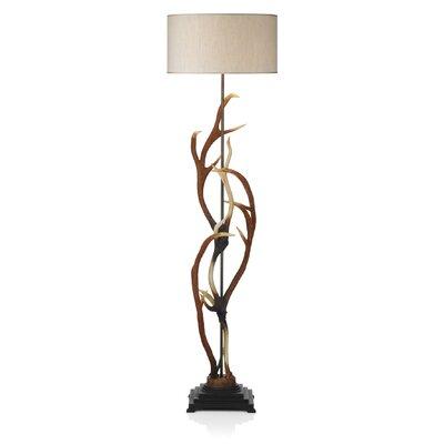 David Hunt Lighting Antler 165cm Floor Lamp