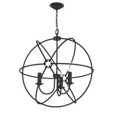 David Hunt Lighting Orb 3 Light Globe Pendant