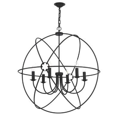 David Hunt Lighting Orb 6 Light Globe Pendant