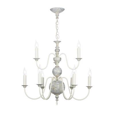 David Hunt Lighting Flemish 9 Light Candle Chandelier