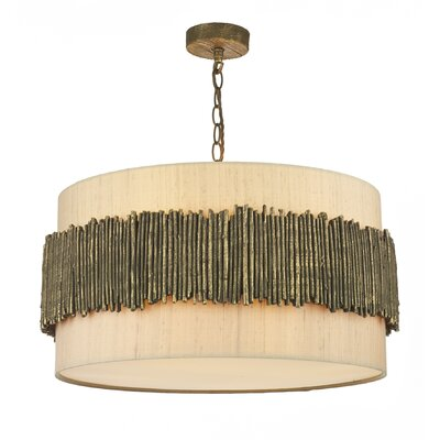 David Hunt Lighting Willow 4 Light Drum Pendant