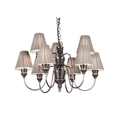 David Hunt Lighting Doreen 9 Light Chandelier