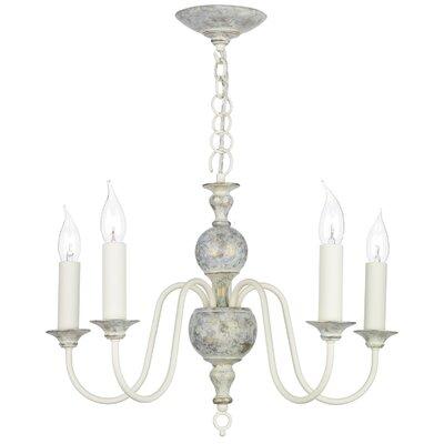 David Hunt Lighting Flemish 5 Light Candle Chandelier