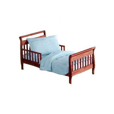 Heavenly Soft Toddler Bedding Set Color: Sage