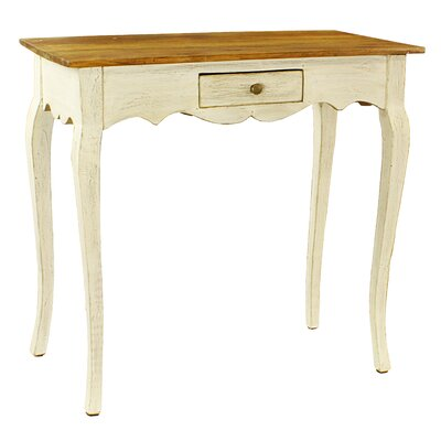 Maryanna Console Table Color: White