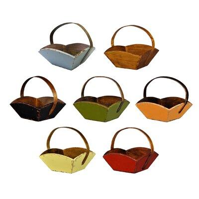 Antique Revival Fruit Basket with Handle
