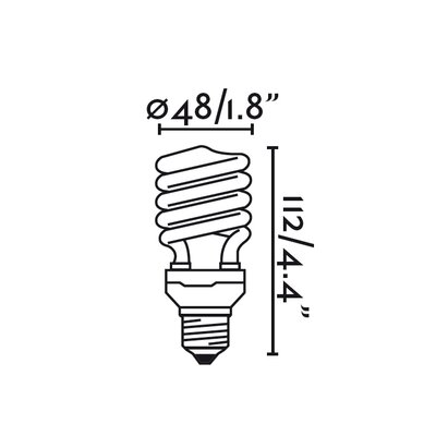 Faro 20W E27/Medium Incandescent Light Bulb