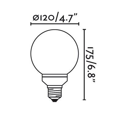 Faro 30W E27/Medium Light Bulb