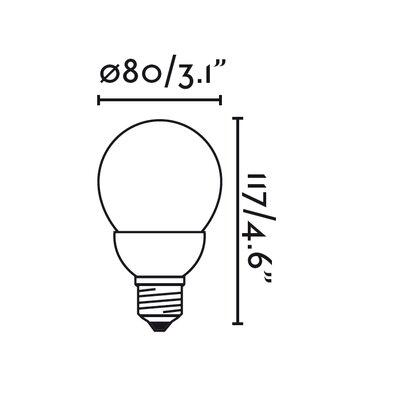 Faro 14W E27/Medium Light Bulb