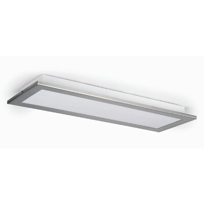 Faro Azor 1 Light Flush Ceiling Light