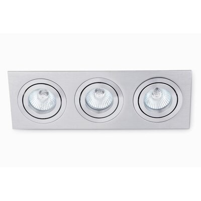 Faro Plano-3 Three Light 10cm Recessed Light