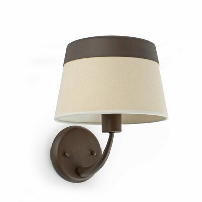 Faro Sac 1 Light Semi-Flush Wall Light
