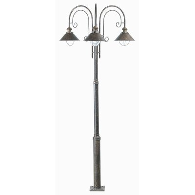 Faro Nautica 3 Light 225cm Outdoor Post Lantern Set