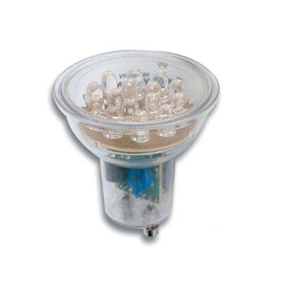 Faro 1W Red GU10/Bi-pin LED Light Bulb