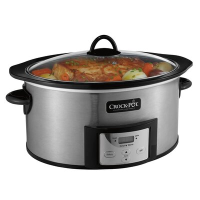6 Qt. Digital Slow Cooker with Stove-top-Safe Cooking Pot
