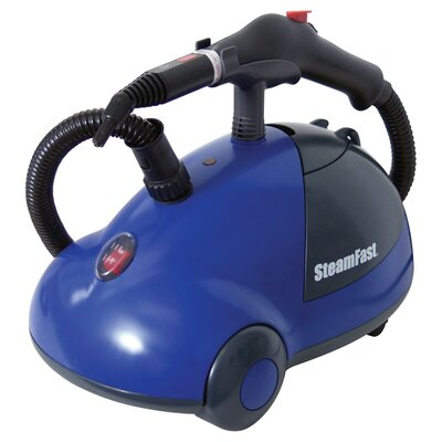 Canister Steam Cleaner in Blue