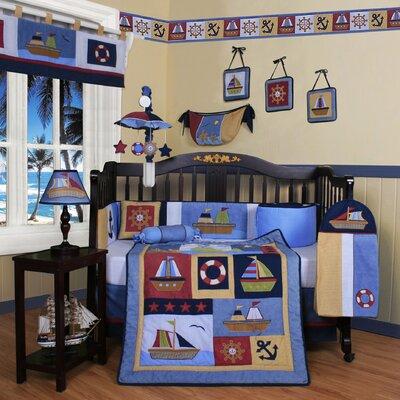 Geenny Boutique Baby Sailor 13 Piece Crib Bedding Set