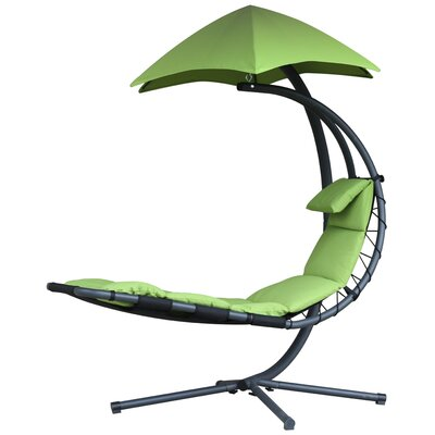 Maglione Hanging Chaise Lounger Color: Green Apple