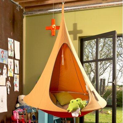 "Tyler Camping Hammock Color: Mango, Size: 72"" H x 72"" W x 72"" D"