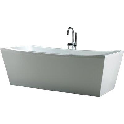 Terra 70 Quot X 34 25 Quot Soaking Bathtub Wayfair