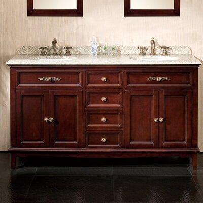 "Dustin 60"" Double Bathroom Vanity Set"