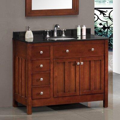 "Adam 42"" Single Bathroom Vanity Set"